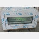 Plastové okno 80x40 bílé 80/40s1b