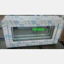 Plastové okno 90x40 bílé 90/40s1b