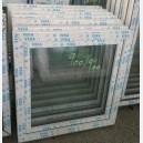 Plastové okno 90x90 bílé zvolene-provedeni leve 90/90os1b