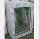 Plastové okno 90x120 bílé zvolene-provedeni leve 90/120os1b