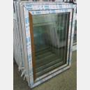 Plastové okno 90x120 zlatý dub zvolene-provedeni leve 90/120os1zd