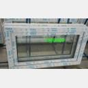Plastové okno 100x50 bílé 100/50s1b