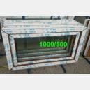 Plastové okno 100x50 zlatý dub 100/50s1zd