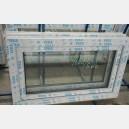 Plastové okno 100x60 bílé 100/60s1b