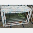 Plastové okno 100x60 zlatý dub 100/60s1zd