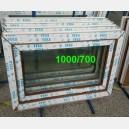 Plastové okno 100x70 zlatý dub zvolene-provedeni leve 100/70os1zd