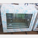 Plastové okno 100x80 bílé zvolene-provedeni leve 100/80os1b