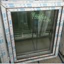 Plastové okno 100x120 zlatý dub zvolene-provedeni leve 100/120os1zd