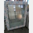 Plastové okno 100x130 bílé zvolene-provedeni leve 100/130os1b