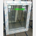 Plastové okno 100x140 bílé zvolene-provedeni leve 100/140os1b