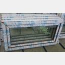 Plastové okno 120x60 zlatý dub 120/60s1zd