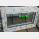 Plastové okno 120x70 bílé 120/70s1b