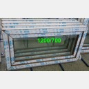Plastové okno 120x70 zlatý dub 120/70s1zd