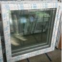 Plastové okno 120x120 bílé zvolene-provedeni leve 120/120os1b