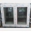 Plastové okno 120x100 bílé 120/100os2b
