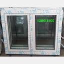 Plastové okno 120x110 bílé 120/110os2b