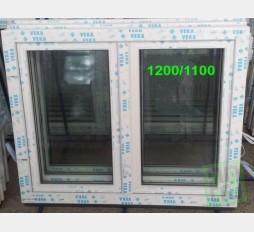 Plastové okno 120x110 bílé