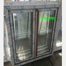 Plastové okno 120x150 os2-zlatý dub 120/150os2zd