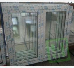 Plastové okno 130x100 bílé