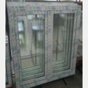 Plastové okno 130x150 bílé 130/150os2b