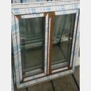 Plastové okno 130x150 zlatý dub 130/150os2zd