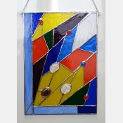 Závěsná vitráž Styl 30x42