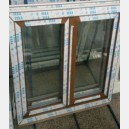 Plastové okno 130x140 zlatý dub 130/140os2zd