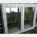 Plastové okno 140x110 bílé 140/110os2b