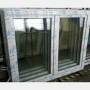 Plastové okno 140x120 bílé 140/120os2b