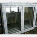 Plastové okno 140x130 bílé 140/130os2b
