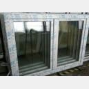 Plastové okno 150x110 bílé 150/110os2b