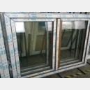 Plastové okno 150x110 zlatý dub 150/110os2zd