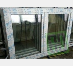 Plastové okno 150x120 bílé