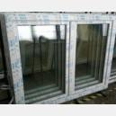 Plastové okno 150x130 bílé 150/130os2b