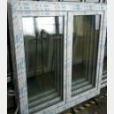 Plastové okno 150x140 bílé 150/140os2b