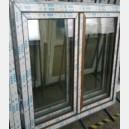 Plastové okno 150x150 zlatý dub 150/150os2zd