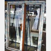 Balkonové dveře 150x200 zlatý dub spodni-prah standardni-vysoky-7cm 150/200os2zd