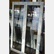 Balkonové dveře 120x200 os2-bílé spodni-prah standardni-vysoky-7cm 120/200os2b