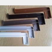 Plastová krytka k hliníkovým  a pozink parapetům