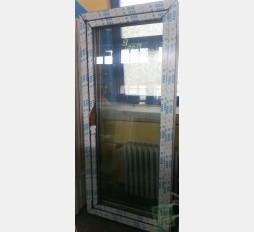 Balkonové dveře 90x200 os1-zlatý dub