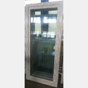 Balkonové dveře 90x200 bílé zvolene-provedeni leve 90/200os1b