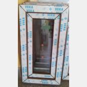 Plastové okno 40x100 zlatý dub zvolene-provedeni leve 40/100os1zd