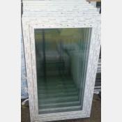 Plastové okno 90x150 bílé zvolene-provedeni leve 90/150os1b
