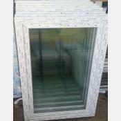 Plastové okno 100x150 bílé zvolene-provedeni leve 100/150os1b