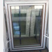 Plastové okno 100x150 zlatý dub zvolene-provedeni leve 100/150os1zd