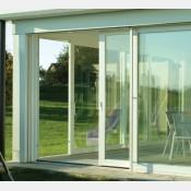 Francouzské okno posuvné 180x210 Bílé 180/210FOb