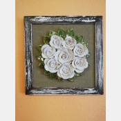 3D obraz růže
