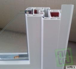 Plochá samolepící lišta s praporkem 30mm - bílá (metráž)