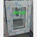 Plastové okno 40x50 bílé zvolene-provedeni leve 40/50o1b