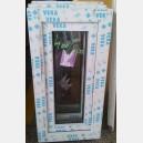 Plastové okno 40x80 bílé zvolene-provedeni leve 40/80os1b